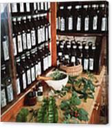 Herbal Pharmacy Canvas Print