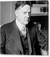 Herbert Clark Hoover Canvas Print