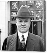 Herbert Hoover - President Of The United States Of America - C 1924 Canvas Print