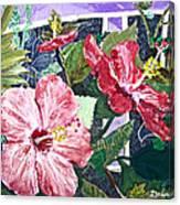 Hibiscus Seductris Canvas Print