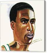 Hichan El Guerrouj Canvas Print
