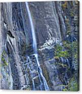 Hickory Nut Falls Chimney Rock State Park Canvas Print