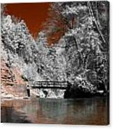 Hidden Bridge Canvas Print