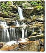 Hidden Falls At Hanging Rock Canvas Print