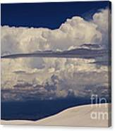 Hidden Mountains In The Shadows Of The Storm Canvas Print