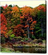 Hidden Valley Lake Canvas Print
