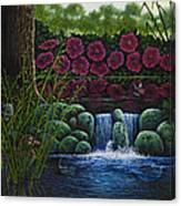 Hiding Duckie Canvas Print
