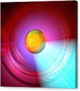 Higgs Boson Particle, Artwork Canvas Print
