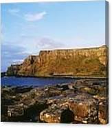 High Angle View Of Rocks, Giants Canvas Print