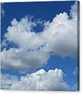 High Clouds Canvas Print