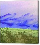 High Green Pastures  Canvas Print