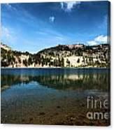High Mountain Paradise Canvas Print