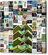 High Rise Apartment Building Canvas Print