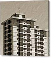 High Rise Apartments Canvas Print