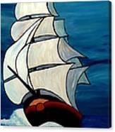 High Sea Canvas Print