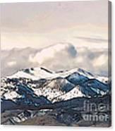High Sierra Mountains Canvas Print