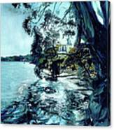 High Tide At The Tiburon Audubon Canvas Print
