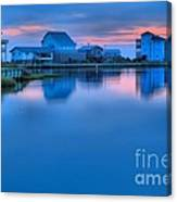 Highlights From The Sky Canvas Print