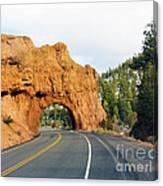 Highway 12 In Utah Canvas Print