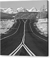 Highway 52   Canvas Print