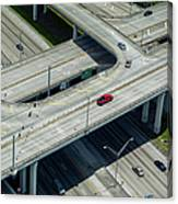 Highways In Fort Lauderdale, Fl Canvas Print