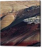 Hiking In The Painted Hills Canvas Print