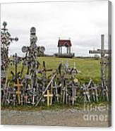 Hill Of Crosses 01. Lithuania Canvas Print