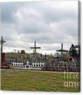 Hill Of Crosses 05. Lithuania Canvas Print