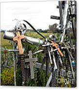 Hill Of Crosses 08. Lithuania Canvas Print