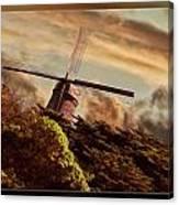 Hillside Windmill Canvas Print