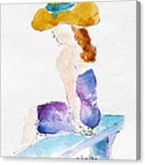 Hilo Hattie Fashionista Canvas Print