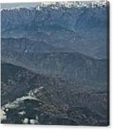 Himalaya Mountains Of Nepal Canvas Print