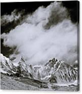 Himalayan Mountain Range Canvas Print