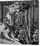 Himmapan Animals Statue Canvas Print