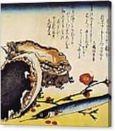 Hiroshige: Color Print Canvas Print