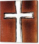 His Cross Canvas Print