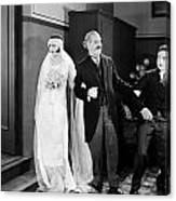 His Marriage Wow, 1925 Canvas Print