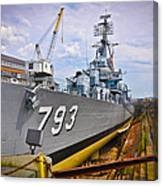 Historic Boston Ship Canvas Print