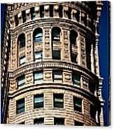 Historic Building In San Francisco - Colour Canvas Print