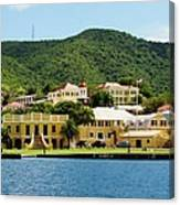 Historic Christiansted Canvas Print