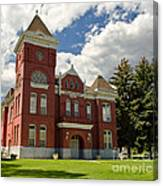 Historic Courthouse Marysvale Utah Canvas Print