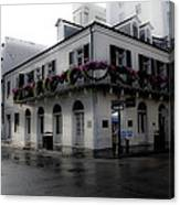 Historic French Quarter No 1 Canvas Print