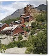 Historic Kennicott Mill Buildings Canvas Print