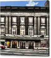 Historic Met Theater In Morgantown Wv Canvas Print