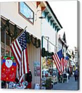 Historic Niles District In California Near Fremont . Main Street . Niles Boulevard . 7d10693 Canvas Print