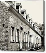 Historic Row Homes Allaire Village Canvas Print