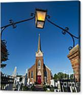 Historic St Peter's Episcopal Church Canvas Print