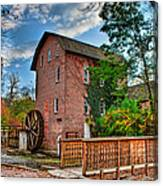 Historic Woods Grist Mill Canvas Print