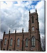Historical 1st Presbyterian Church - Gates Avenue Se Huntsville Alabama Usa - Circa 1818 Canvas Print