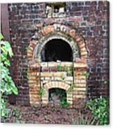 Historical Antique Brick Kiln In Morgan County Alabama Usa Canvas Print